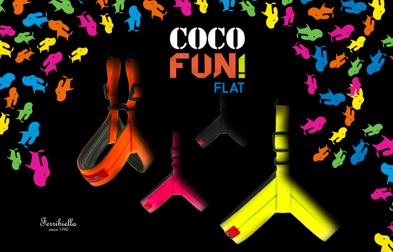 L'innovativa pettorina Coco - Fun Flat