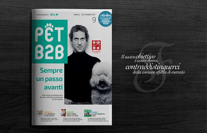 Pet B2B: La cover story di settembre è dedicata a Ferribiella