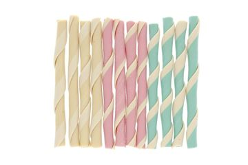 Изображение BONE FRUIT STRAWS 10CM 12PCS.