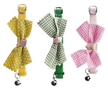 DISPLAY CHATCOLLAR BIG BOW 9PCS
