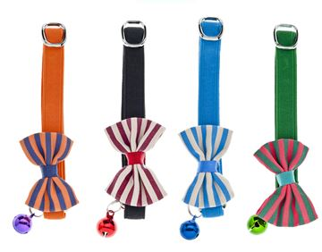 CAT COLLARS 12PCS PAPILLON