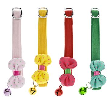 CAT COLLARS 12PCS RIBBONS