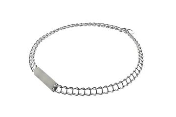 CHROMIUM PLATED COLLAR 1,3X45CM