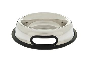 Изображение INOX BOWL RUBB.HANDLE D.17,5-0,95LT