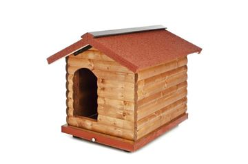 Изображение PINE WOOD KENNEL CM.100X75X80H