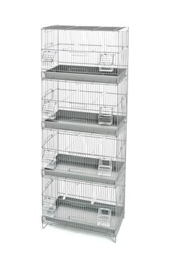 CAGE 4 ETAGES 45X25X120 CM 1 PC