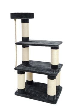 Bild von CAT TREE MULTILEVEL 80X60X153CM