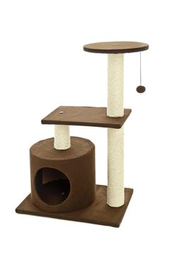 Bild von BROWNIES CAT TREE CM48X33X79H