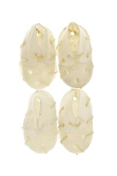 BLEACHED MINI SHOES 4PCS 32GR 6CM
