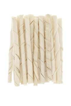 BLEACHED TWISTS STICKS 25PCS 75GR