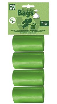 BIODEGRADABLE BAGS 15X4ROLLS