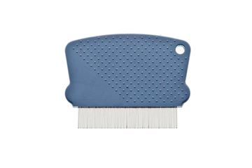 BLISTER PLASTIC FLEA COMB NO HANDLE