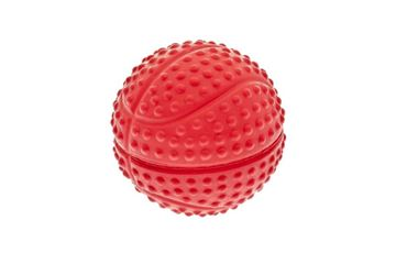 BOX 16 PCS SPORT RUBBER BALLS 75MM