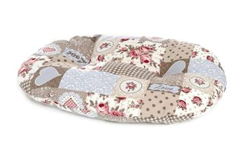 3 HEART OVAL PILLOWS 38-49-57CM