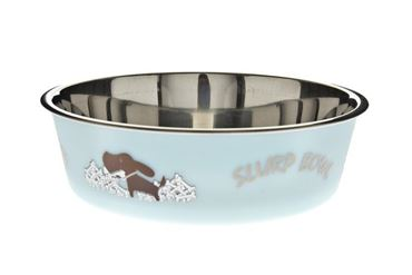 BOWL FUSS-BELLA L CM.21 1,5LT LIGHT BLUE