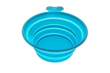 SMALL SILICONE BOWL EASY TRAVEL LIGHT BL
