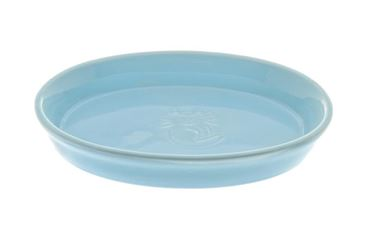 Bild von LOW CERAMIC CAT BOWL 16,5X11CM LIGHT BLU