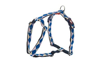 ADJUST.HARNESS COLOR 10MMX30-40CM BLUE J