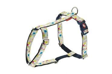 ADJUST.HARNESS COLOR 10MMX30-40CM BLUE P