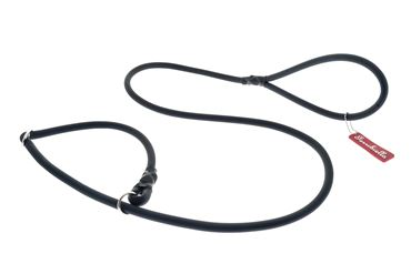 OFF FUN SILICON LEASH+COLLAR 1X165 BLACK