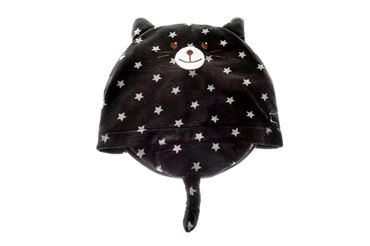 CAT PILLOW 52X42CM STARS