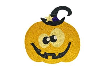 CARPET CAT SCRATCH PUMPKIN 44X40CM
