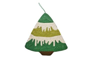 Изображение CAT SCRATCH CHRISTMAS TREE 43X40CM
