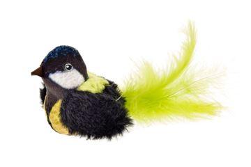Bild von CIP-CIP BLACK BIRDS W/FEATHERS 8CM