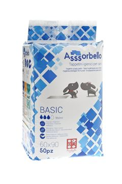 Изображение BASIC PADS ASSSORBELLO 60X90 1X50PC