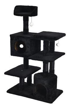 Bild von BLACK MODULAR CAT TREE 65X40X111CM