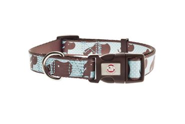 COLLAR AJUSTABLE FUSS-DOG 10MM AZUL