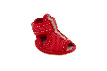 OFF BOOTS COL.RED 4PCS CM.3,5X2,7