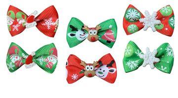 CHRISTMAS BOWS BOX 50PCS