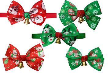 CHRISTMAS BOW TIE BAG 10PCS